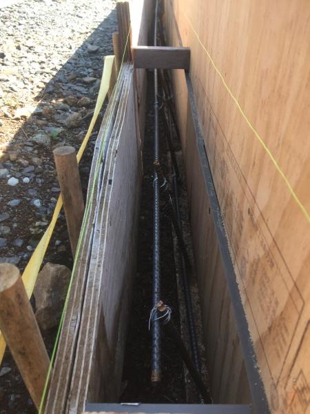コンクリートの作り方DIY鉄筋の入れ方