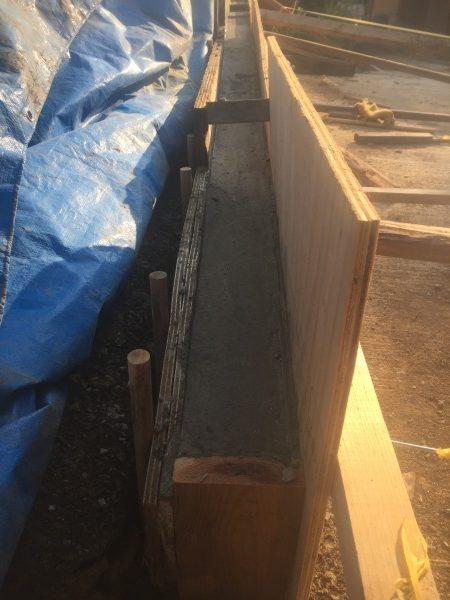 コンクリート作りコンクリートの流し方